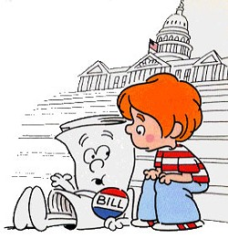The legislative process seemed so simple as a child.