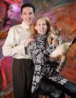Nick (left) and Jake Schleicher: Awkward Cat Bros - AWKWARD FAMILY PHOTOS