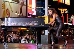 """Alicia Keys in Jay-Z's """"Empire State of Mind"""" - IMAGE VIA"""