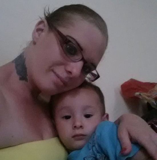 Carla and her son. - FACEBOOK PHOTO, PRINTED WITH PERMISSION