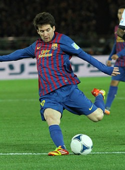 Lionel Messi is out due to injury. - CHRISTOPHER JOHNSON ON FLICKR