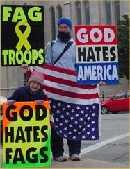 Federal judges have approved restrictions on these people who picket funerals. - IMAGE VIA