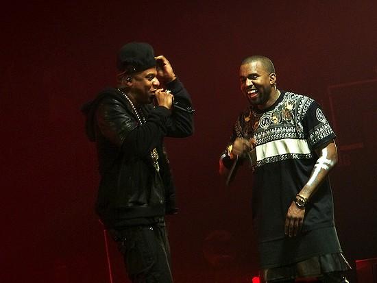 Jay-Z and Kanye West. - U2SOUL ON FLICKR