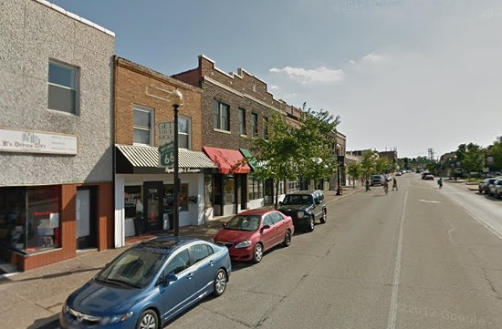 Block in Maplewood where Book House may relocate. - VIA GOOGLE MAPS