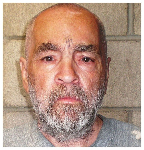 Charles Manson, the groom-to-be.