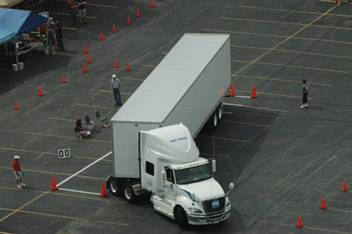 Only 8 out of 136 drivers scored in the jackknife parallel parking competition!! - MISSOURI MOTOR CARRIERS ASSOCIATION