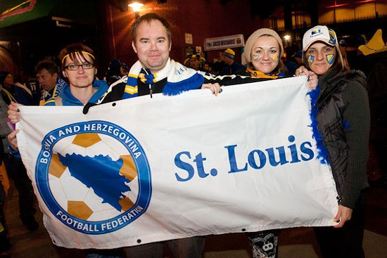 Sorry, Bosnia fans. The rumors are probably just rumors. - JON GITCHOFF FOR THE RIVERFRONT TIMES.