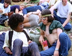 Don't let the man get you down, Woodstock - WIKIMEDIA COMMONS