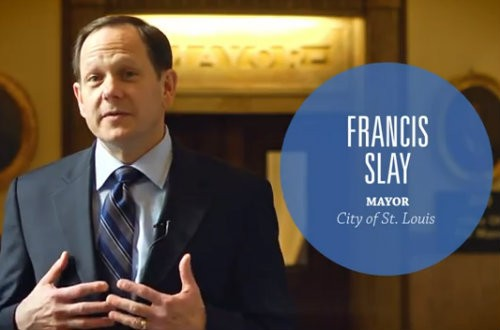 Mayor Francis Slay has something he'd like to say to the mayor of Milwaukee. - VIA