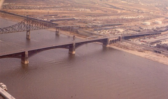 Big Muddy and the Eads, fouled by your commerce.