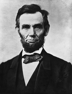 Abe Lincoln was late before he was late.