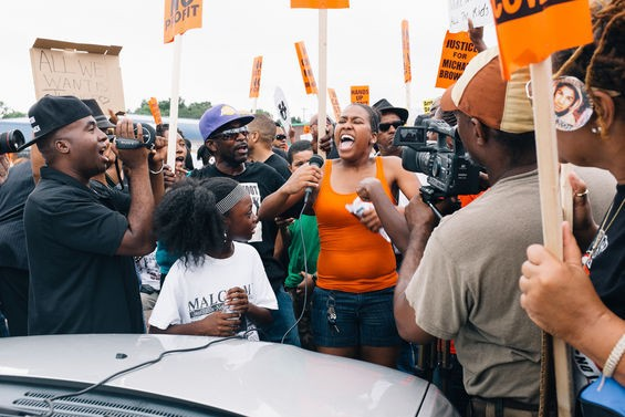 Cameras and microphones give demonstrators a chance to share their movement with the world.