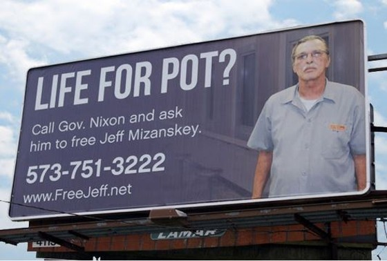 It looks like Governor Jay Nixon is finally paying attention to Jeff Mizanskey. - SHOW-ME CANNABIS