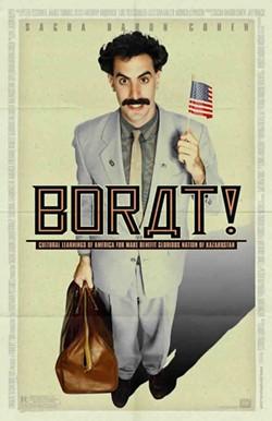 Borat: Not a Turkmen. He's a Kazakh. Duh!