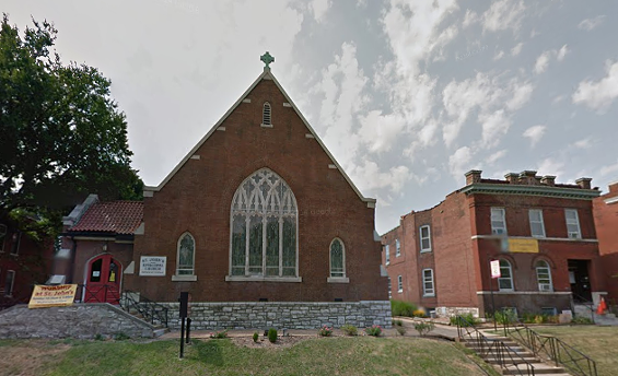 St. John's Church says it'll offer sanctuary to people who are blocked from their homes by protesters. - GOOGLE MAPS