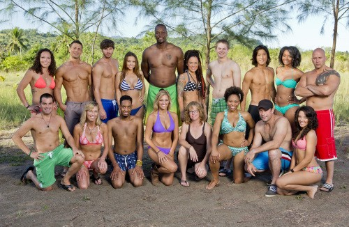 Latasha Fox and the cast of Survivor. - CBS/MONTY BRINTON