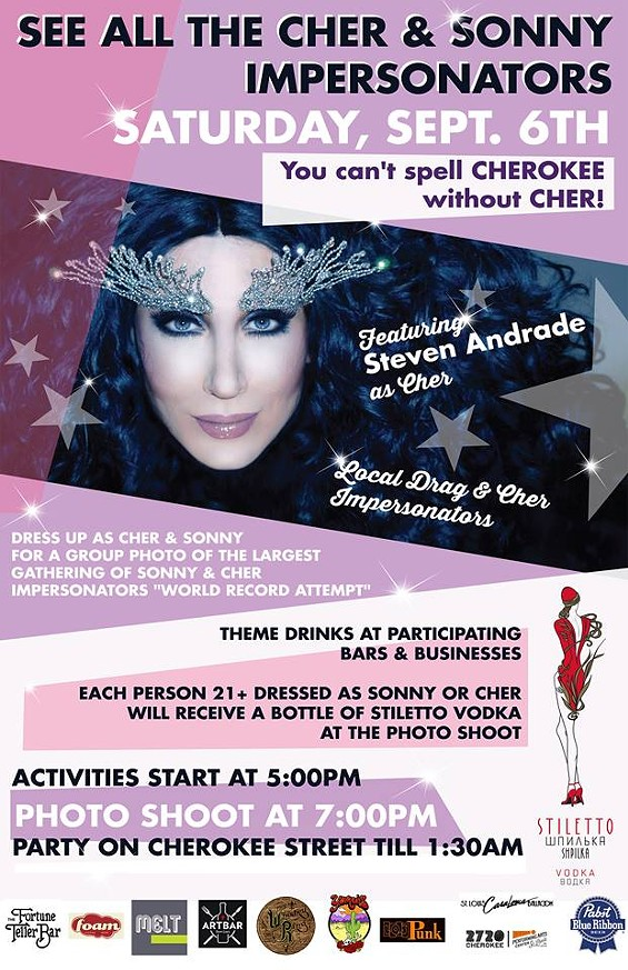 Help Cherokee Street Set New World Record For Most Cher Impersonators On Saturday News Blog