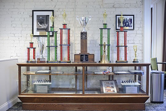 A new (and old) title will soon join the ranks of the awards earned by the St. Louis Chess Club and Scholastic Center. - TODD OWYOUNG