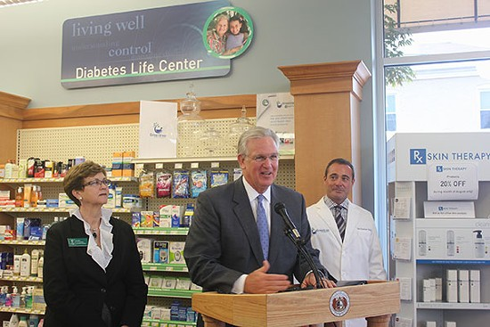 Governor Jay Nixon discussing House Bill 253 in Kirkwood last month. - VIA GOVERNOR.MO.GOV