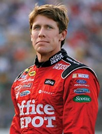 Carl Edwards could face a fine and suspension from NASCAR.