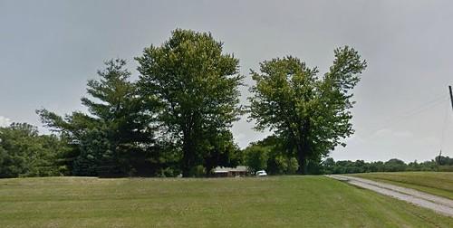 Police raided Stanton's Lebanon, Illinois, home and found bomb-making supplies. - GOOGLE MAPS