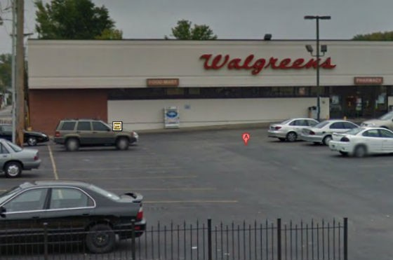 Walgreens, a safe haven for victims of gun violence. - GOOGLE MAPS