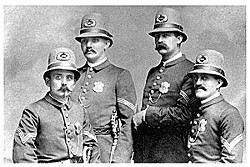 The St. Louis police have been under state control since cops looked like this, a.k.a. the Civil War.
