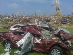 The Joplin tornado leveled the town and killed more than 160 people. - PHOTO: ALBERT SAMAHA