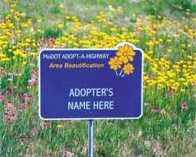 Once upon a time, the Adopt-A-Highway program was about keeping roadways clean. Now it makes news when controversial groups decide to push buttons. - VIA MODOT