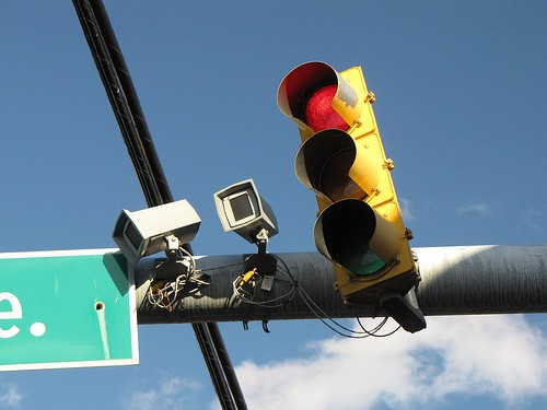 Don't like stopping at red lights? Please don't drive, says St. Louis' city counselor. - BEN SCHUMAN ON FLICKR
