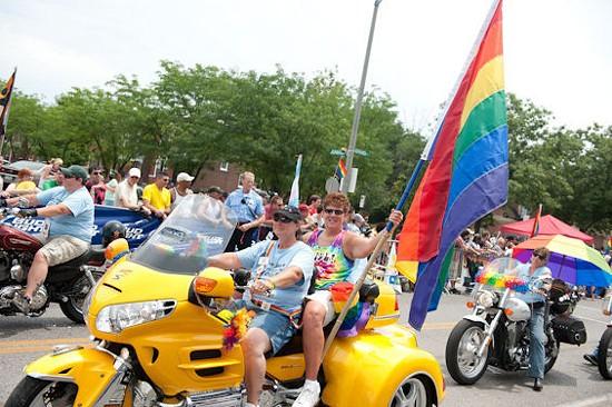 PrideFest last year. - JON GITCHOFF FOR RFT