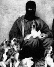 Still from a video about the Animal Liberation Front - IMAGE VIA