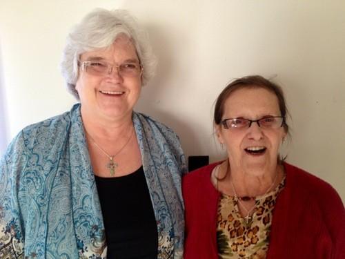 Carol Parker and her partner Josephine Martin. - COURTESY OF CAROL PARKER