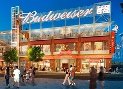 Artist's conception of the new Anheuser-Busch restaurant at Ballpark Village. - COURTESY ST. LOUIS CARDINALS