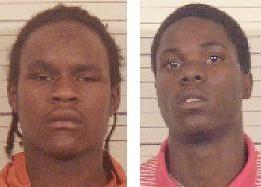 DeShawn Bell (left) and Travon Watson. - BND.COM