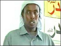 Yusuf and his accomplices were believed to be in contact with Aden Hashi Ayrow (above), the leader of al-Shabaab until his death in May 2008 from a missle attack.