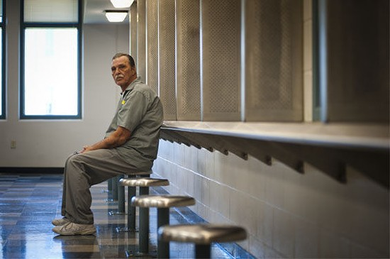 Jeff Mizanskey has been in prison for more than 20 years for marijuana charges. He has asked Gov. Nixon for clemency. - KHOLOOD EID