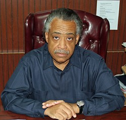 Sharpton: Does this face look like I'm joking?