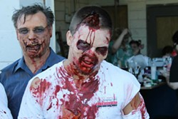 Zombies hate fast food. - ZOMBIE SURVIVAL DASH