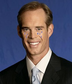 A terrible re-enactment of Joe Buck crying.