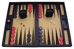 Backgammon? Yeah. More like al-Qaeda-gammon. - IMAGE VIA
