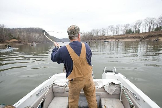 Fishing for paddlefish is legal. Harvesting their eggs and selling them as caviar is not - PHOTOS COURTESY OF THE MISSOURI DEPARTMENT OF CONSERVATION
