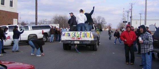Wordi Gras aka Redneck Mardi Gras - VIA FACEBOOK
