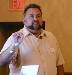 Moderator Scott Spradlin