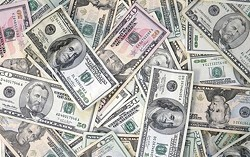 Artist's conception of Frank McCourt's new money blanket.