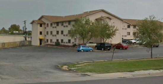 America's Best Value Inn at 3655 Pennridge Drive, where Nedich was taken from his room on Tuesday. - GOOGLE MAPS