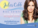 THE REAL AD CAMPAIGN FOR COUGAR TOWN FEATURES FAUX REAL ESTATE ADS.