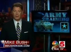 Kent Brockman, er Mike Bush. Same diff.
