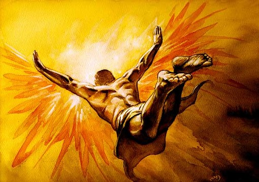 That's me, flying right into the heart of this playoff preview. Like the loincloth? - MENTERA.ORG