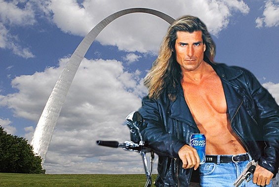 St. Louis is for lovahs! - PHOTO ILLUSTRATION BY KHOLOOD EID